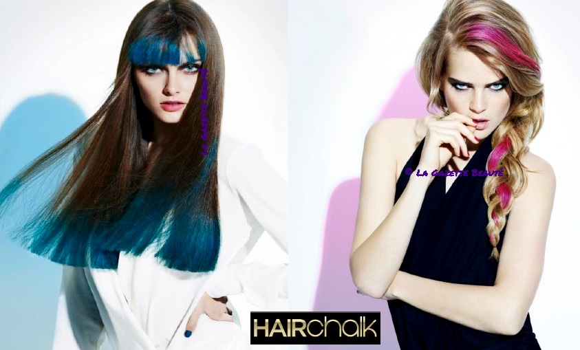 Exemple de Hair Chalk