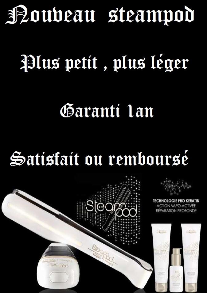 Le nouveau steampod est arriv for Steampod salon